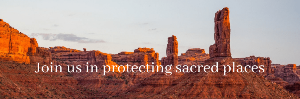 Join us in protecting sacred places